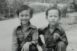 Dương Triệu Vũ đăng ảnh thuở nhỏ của Hoài Linh