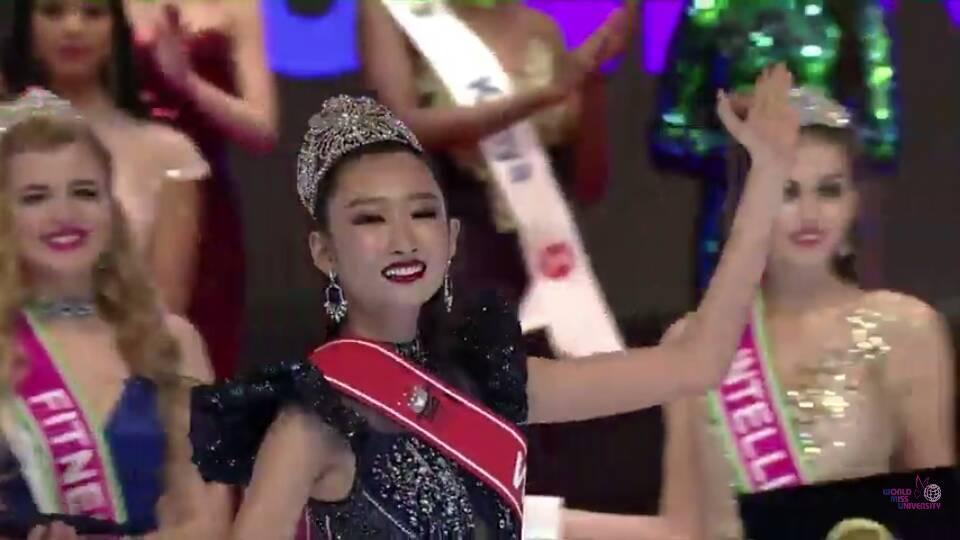 Đi thi trong lặng lẽ, Thanh Khoa bất ngờ đăng quang Hoa hậu Sinh viên Thế giới 2019-2