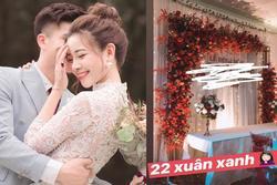 Không còn úp mở nữa, vợ Phan Văn Đức hé lộ không gian lễ ăn hỏi siêu đẹp rồi đây