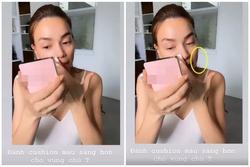 Hồ Ngọc Hà lại bị soi dùng phần mềm quay clip 'ảo tung chảo' để review mỹ phẩm