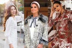Bản tin Hoa hậu Hoàn vũ 19/12: Hoàng Thùy lên đồ 'lồng lộn', Khánh Vân chìm nghỉm giữa dàn giai nhân