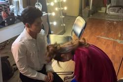 Ninh Dương Lan Ngọc quỳ gối xin lỗi Jun Phạm sau vụ đăng clip đàn anh thay đồ