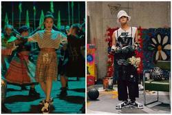 Hoàng Thùy Linh tung MV dân gian nhưng chân phải 'quẩy' giày hoa cúc đình đám của G-Dragon mới chịu