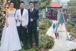 Khoe ảnh đón Giáng sinh, 'cô dâu 200 cây vàng' ở Nam Định làm ai cũng xuýt xoa khi ở trong biệt phủ siêu đẹp