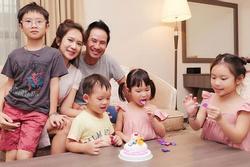 Lý Hải, Minh Hà tổ chức sinh nhật 5 tuổi cho con gái