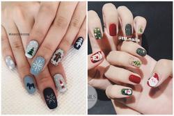 Top 10 mẫu nail xinh cho nàng tham khảo dịp Giáng sinh
