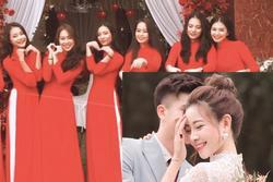 Vợ Phan Văn Đức khoe ảnh xinh đẹp trong lễ ăn hỏi, dàn phù dâu toàn gương mặt nổi bật