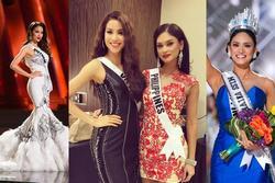 Bản tin Hoa hậu Hoàn vũ 21/12: Pia và Phạm Hương, người thắng - kẻ thua hoài niệm ngày này 4 năm trước