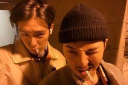 Ảnh chung của G-Dragon và T.O.P gây tranh cãi