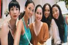 Xuân Lan đăng ảnh chụp cùng Thân Thúy Hà và dàn siêu mẫu đời đầu