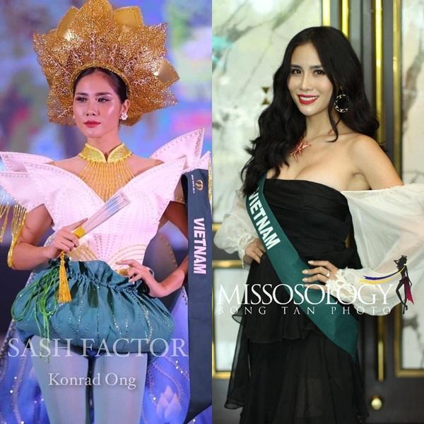 Mỹ nhân Việt thi quốc tế 2019: Tưởng non nớt nhưng hóa ra Tường San lại là người cân team-10