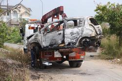 Đặc điểm nhận dạng nghi can giết người cướp tài sản, đốt xe phi tang ở Sài Gòn: Người Hàn Quốc, dáng thư sinh, da trắng, đeo kính cận