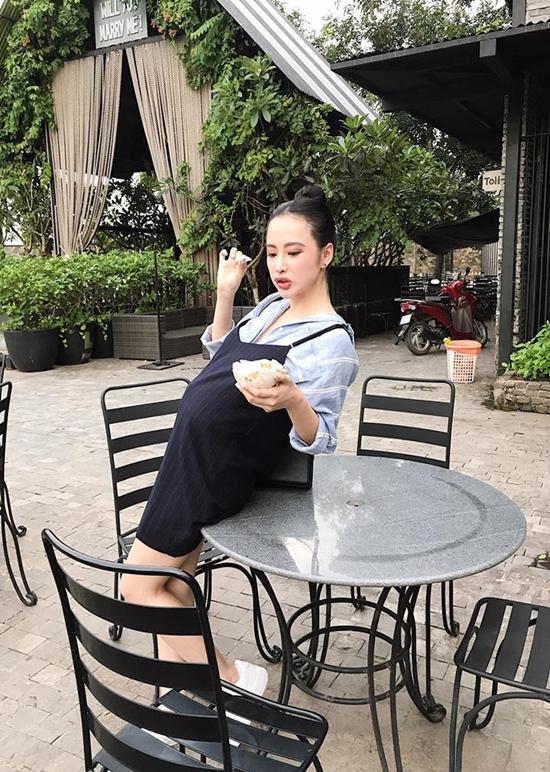 Lộ ảnh Hòa Minzy bụng bầu, chứng cớ dân mạng đưa ra càng có thêm cơ sở nữ ca sĩ đã sinh con-4