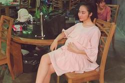 Lộ ảnh Hòa Minzy bụng bầu, chứng cớ dân mạng đưa ra càng có thêm cơ sở nữ ca sĩ đã sinh con