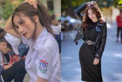 Chỉ với bộ đồng phục của trường, nữ sinh Việt được ví như Angelababy nổi tiếng ra cả thế giới