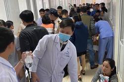 Thanh Hoá: Hàng chục trẻ mầm non nhập viện khẩn cấp, nghi bị ngộ độc sau bữa ăn