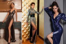 Bản tin Hoa hậu Hoàn vũ 23/12: H'Hen Niê khó 'chặt' nổi Hoàng Thùy và Khánh Vân khi đụng style