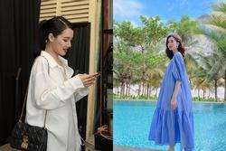Tìm ra chiếc áo giấu bụng bầu 'quốc dân', Nhã Phương, Đàm Thu Trang, Hoàng Oanh đều diện