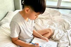 Bất ngờ trước hình ảnh Hà Hồ do chính tay con trai vẽ tặng mẹ