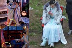Ăn gian 20cm chiều cao đóng phim: Phạm Băng Băng, Triệu Lệ Dĩnh cũng dùng 'gạch xây nhà'