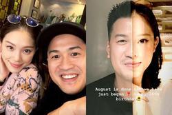 Em chồng Hà Tăng và bạn gái hotgirl khẳng định chủ quyền nhờ nét tướng phu thê 'chuẩn cơm mẹ nấu'