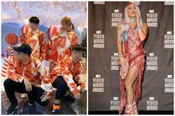Việt Nam giờ mới hot 'áo thịt lợn' sang chảnh chứ Lady Gaga diện ở Mỹ lâu rồi!