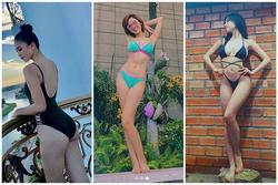 Noel nhưng lại là dịp hết Tiểu Vy, Nhật Hà đến Elly Trần khoe ảnh bikini bốc lửa