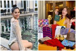 Hoa hậu Tiểu Vy khoe vòng 3 'căng đét' - Kỳ Duyên vung tay sắm đồ hiệu ngập tràn