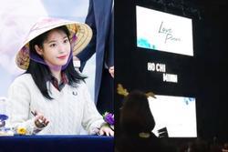 Dòng chữ 'Ho Chi Minh' xuất hiện trong concert của IU, tin đồn 'em gái quốc dân' sắp đến Việt Nam là sự thật?