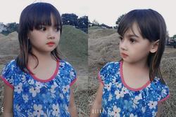 Cô bé người Ba Na xinh đẹp khiến dân mạng trầm trồ: Hoa hậu tương lai đây rồi!