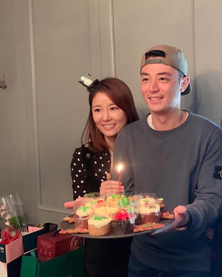 Lâm Tâm Như mừng sinh nhật Hoắc Kiến Hoa, dập tin đồn hôn nhân rạn nứt, chồng đánh mỏi tay-2