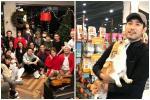 Ấm lòng trước hình ảnh hôn thê cùng gia đình 2 bên đón Noel đầu tiên xa Cao Dĩ Tường