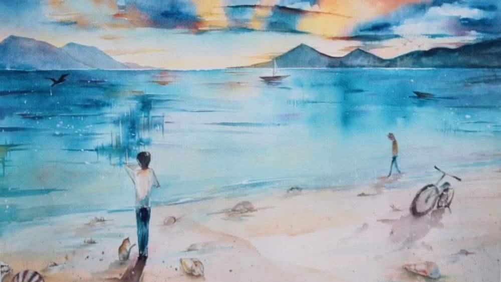 Minh tinh Hoa ngữ đọ tài vẽ tranh: Vương Nhất Bác và Tiêu Chiến múa bút đẹp bất ngờ-11