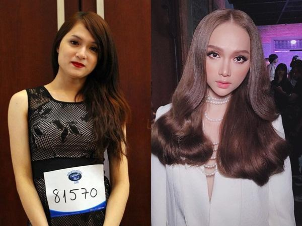 Giật mình với gương mặt biến đổi của Hương Giang sau 7 năm vào showbiz-15