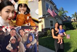 Dàn mỹ nhân Việt định cư trên đất Mỹ: Người bán hàng online, kẻ bí mật sinh nở