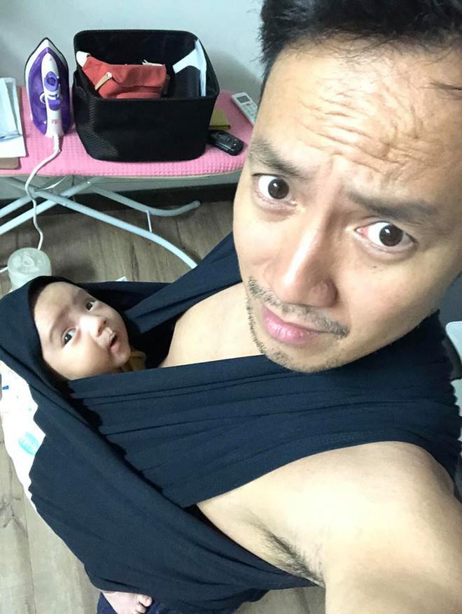 Rapper Đinh Tiến Đạt lần đầu đăng ảnh con trai-2