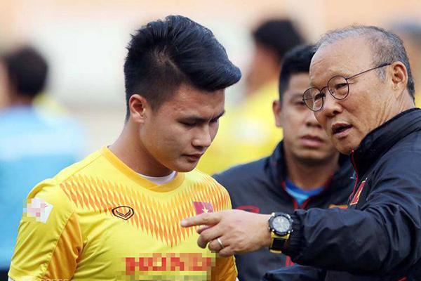 Hành xử lạ chưa từng có của HLV Park Hang Seo trước VCK U23 Châu Á-1