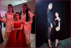 Hòa Minzy chỉ 1m55 nhưng tự tin đọ chiều cao cả showbiz: 'Đối thủ' mới nhất là Hoa hậu Hoàn vũ Khánh Vân