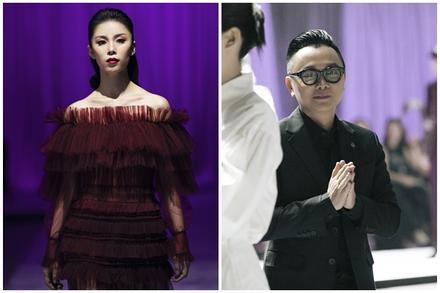 Hoa hậu Hoàn vũ 2007 Riyo Mori diễn vedette cho NTK Công Trí