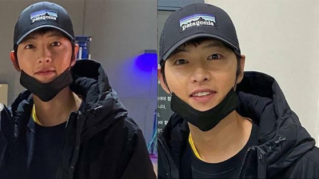 Song Joong Ki một mình đi xem phim-1