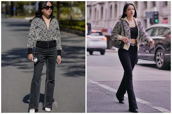 Chi Pu và Phượng Chanel đụng hàng áo khoác gần 100 triệu mà một trời, một vực-8