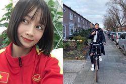 Hoàng Thị Loan, Văn Hậu và các cầu thủ bắt trend 'Mắt biếc'
