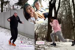 Lần thứ 2 đưa bạn gái về Nga ra mắt gia đình, Văn Lâm - Yến Xuân nhận 'cơn bão' lời chúc phúc của fans