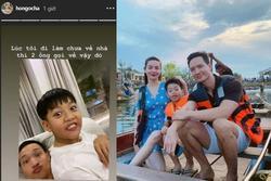 Hạnh phúc giản đơn của Hồ Ngọc Hà hiện tại: Đi làm muộn có hẳn hai người đàn ông 'gọi' về
