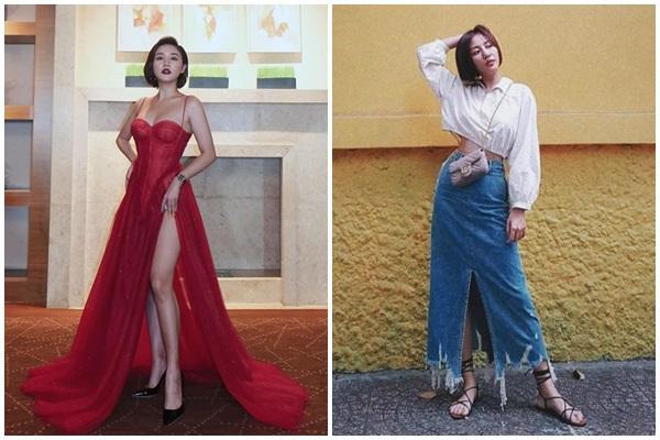'Lên đồ' cực gắt khi dự sự kiện, street style của Văn Mai Hương lại trẻ trung nhờ cách mix đồ 'đáng gờm'