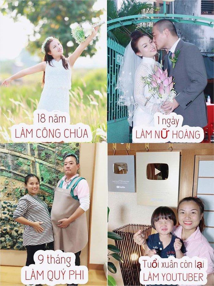 Đăng ảnh thời con gái, Quỳnh Trần JP khiến dân mạng trầm trồ: Mẹ Sa xinh như công chúa-3