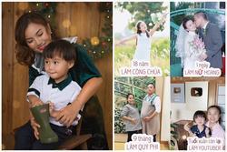 Đăng ảnh 'thời con gái', Quỳnh Trần JP khiến dân mạng trầm trồ: 'Mẹ Sa xinh như công chúa'