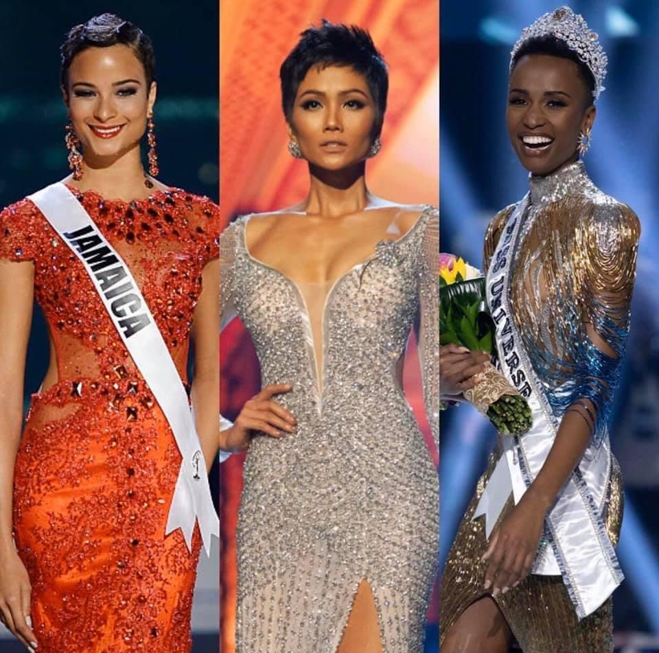 POWER of SHORT HAIR: HHen Niê được yêu thích hơn cả tân Hoa hậu Hoàn vũ Zozibini Tunzi-4