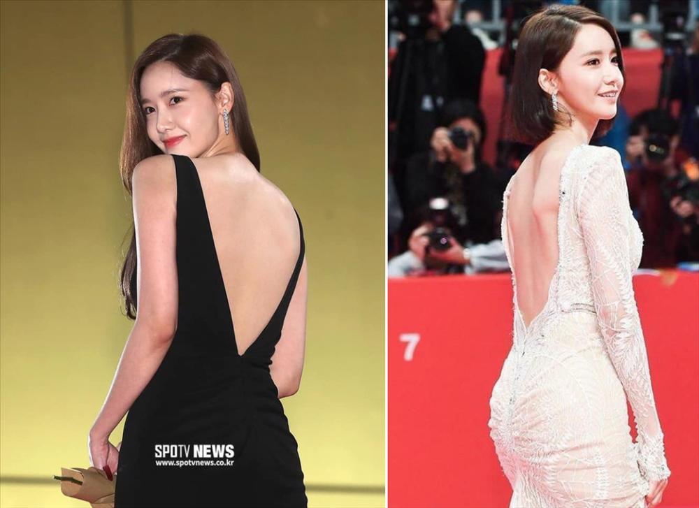 Sao Hàn diện đồ hở lưng: YoonA đẹp như nữ thần, Hwasa bị chê phản cảm-4