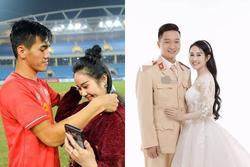 Bạn gái cũ Tiến Linh đăng ảnh mặc áo cưới bên người mới